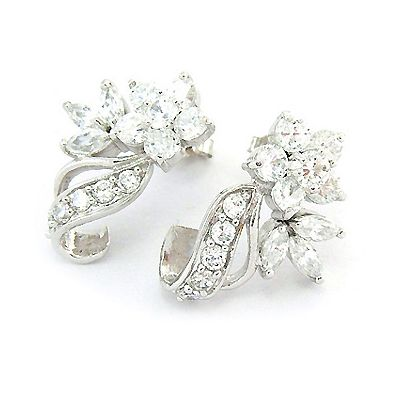 Boucles d'oreilles Bouquets de Brillants
