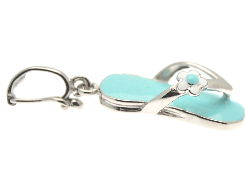 Charm tong turquoise