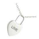 Pendentif Coeur Love Argent