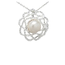 Pendentif Fleur de Perle