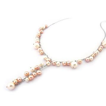 Collier guirlande de perles